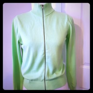 UNITED COLORS OF BENETTON ZIP UP SWEATER